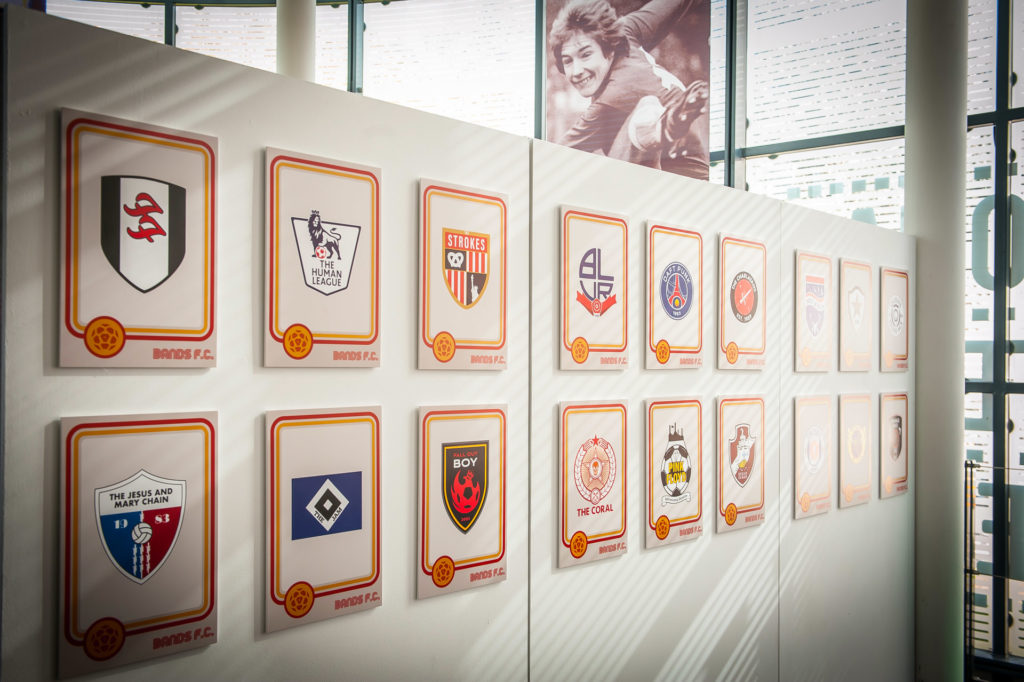 'Bands FC' Exhibition Opens at ARCHIVE 12th February 2019